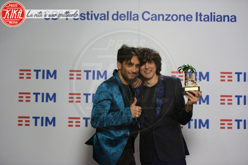 Ermal Meta, Fabrizio Moro - Sanremo - 11-02-2018 - Sanremo 2018: alcune curiosità su Ermal Meta e Fabrizio Moro