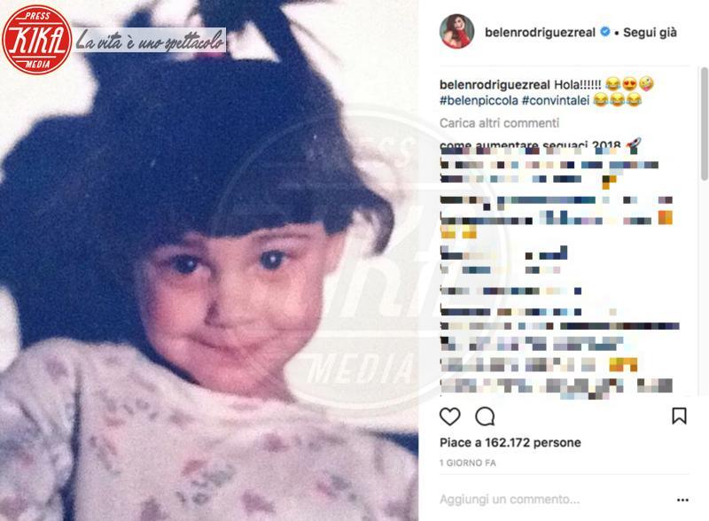 Belen Rodriguez - 12-02-2018 - Ieri bimba dallo sguardo furbo, oggi regina dei social: chi è?