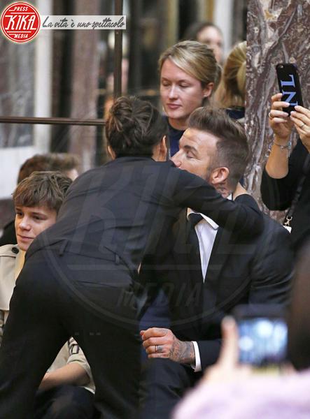 David Beckham, Victoria Beckham - New York - 11-02-2018 - NYFW: a fare il tifo per Victoria c'è tutta la famiglia Beckham