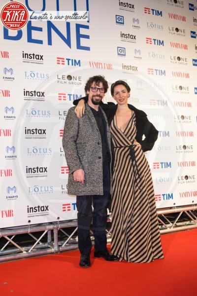 Andrea Delogu, Francesco Montanari - Roma - 12-02-2018 - Carolina Crescentini, A casa tutti bene... al cinema e in amore