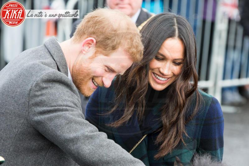 Meghan Markle, Principe Harry - Edimburgo - 13-02-2018 - Harry & Meghan: a Edimburgo li accoglie... un pony!