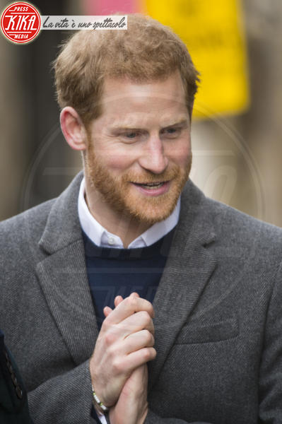 Prince Harry - Edimburgo - 13-02-2018 - Harry & Meghan: a Edimburgo li accoglie... un pony!