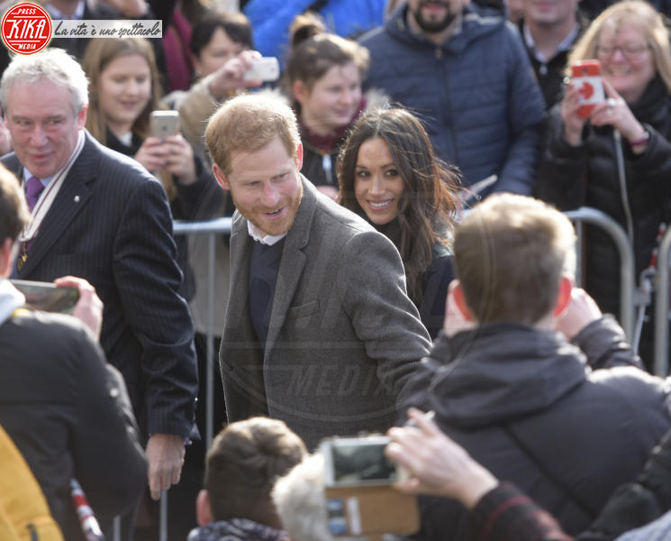 Meghan Markle, Principe Harry - Regno Unito - 13-02-2018 - Harry & Meghan: a Edimburgo li accoglie... un pony!