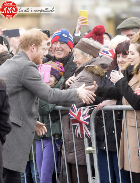 Principe Harry - Regno Unito - 13-02-2018 - Harry & Meghan: a Edimburgo li accoglie... un pony!