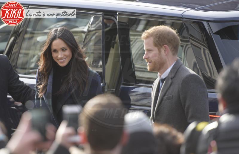 Meghan Markle, Principe Harry - Regno Unito - 13-02-2018 - Harry & Meghan: a Edimburgo li accoglie... un pony!