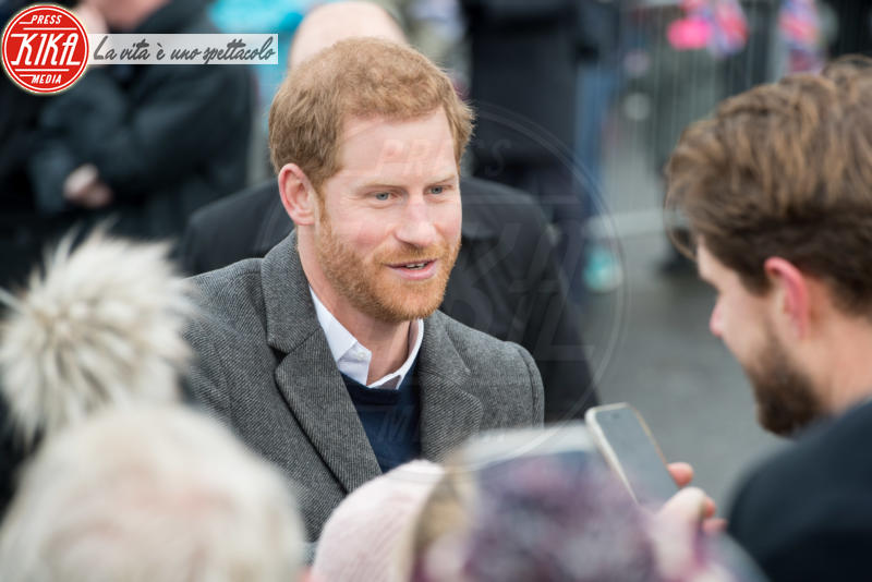 Prince Harry - Edimburgo - 13-02-2018 - Harry & Meghan: a Edimburgo li accoglie... un pony!