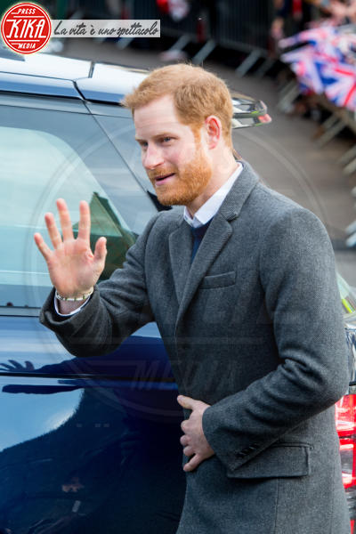 Principe Harry - Edimburgo - 13-02-2018 - Harry & Meghan: a Edimburgo li accoglie... un pony!