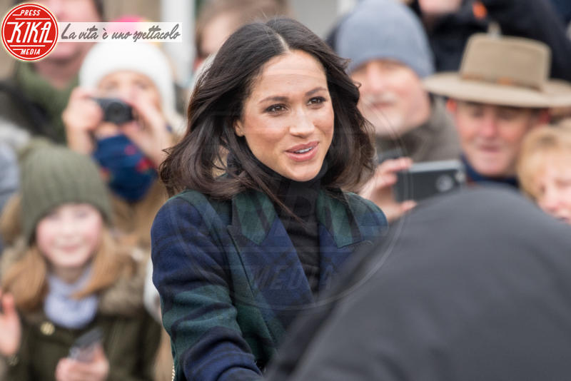 Meghan Markle - Edimburgo - 13-02-2018 - Harry & Meghan: a Edimburgo li accoglie... un pony!