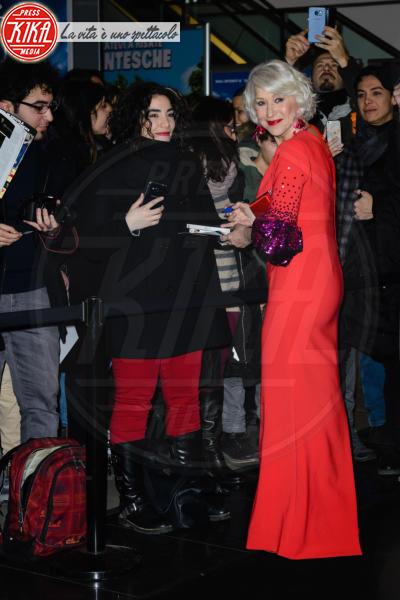 Helen Mirren - Roma - 13-02-2018 - Helen Mirren, dama in rosso per La Vedova Winchester