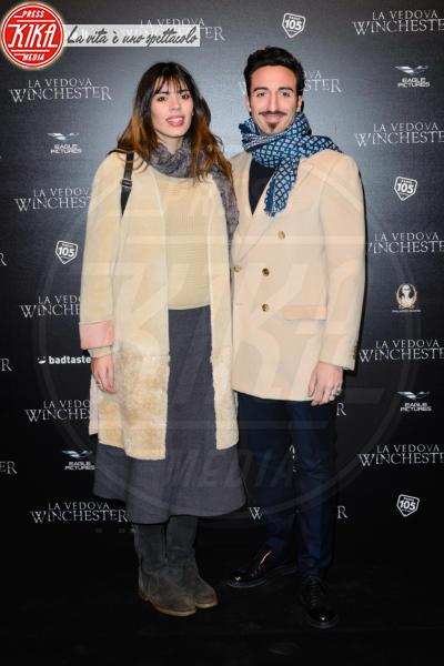 Tania Bambaci, Samuel Peron - Roma - 13-02-2018 - Helen Mirren, dama in rosso per La Vedova Winchester