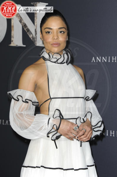 Tessa Thompson - Los Angeles - 14-02-2018 - Natalie Portman è una dark lady alla prima di Annihilation