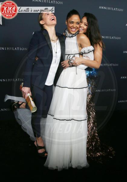 Tessa Thompson, Tuva Novotny, Gina Rodriguez - Westwood - 14-02-2018 - Natalie Portman è una dark lady alla prima di Annihilation