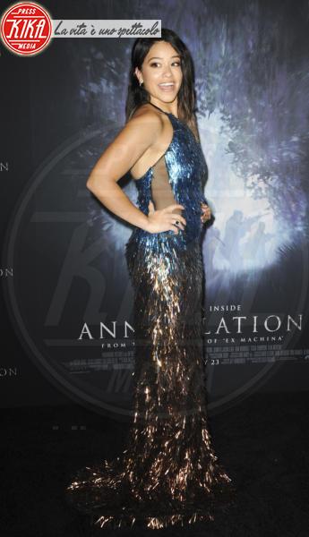 Gina Rodriguez - Los Angeles - 14-02-2018 - Natalie Portman è una dark lady alla prima di Annihilation