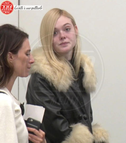 Elle Fanning - Los Angeles - 13-02-2018 - Star prima e dopo, il miracolo del make up