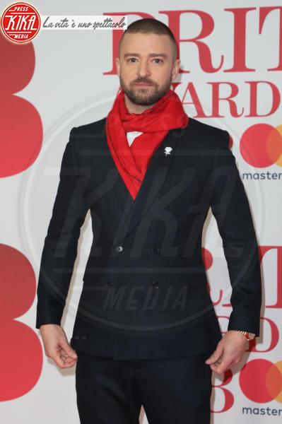 Justin Timberlake - Londra - 21-02-2018 - Brits 2018: Dua Lipa e le altre, una rosa bianca per Time's Up