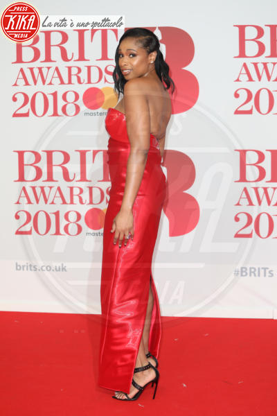 Jennifer Hudson - Londra - 21-02-2018 - Brits 2018: Dua Lipa e le altre, una rosa bianca per Time's Up