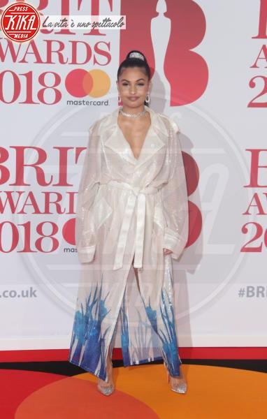 Mabel McVey - Londra - 21-02-2018 - Brits 2018: Dua Lipa e le altre, una rosa bianca per Time's Up