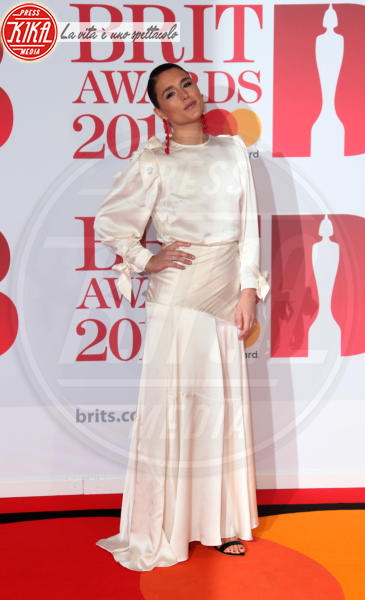 Jessie Ware - Londra - 21-02-2018 - Brits 2018: Dua Lipa e le altre, una rosa bianca per Time's Up