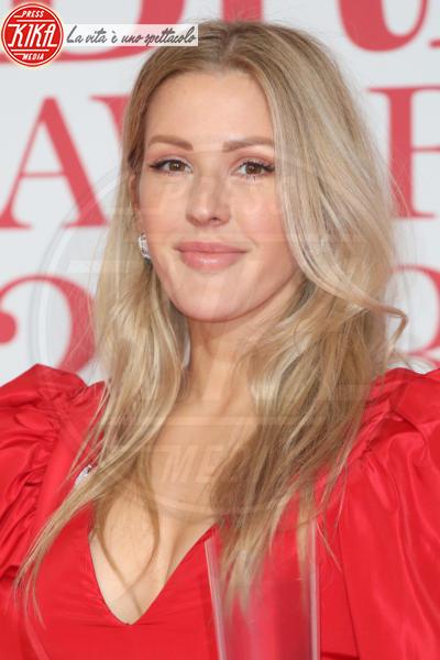 Ellie Goulding - Londra - 21-02-2018 - Brits 2018: Dua Lipa e le altre, una rosa bianca per Time's Up