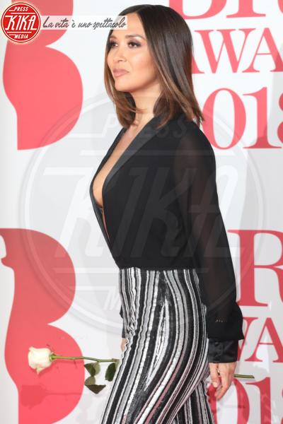 Myleene Klass - Londra - 21-02-2018 - Brits 2018: Dua Lipa e le altre, una rosa bianca per Time's Up