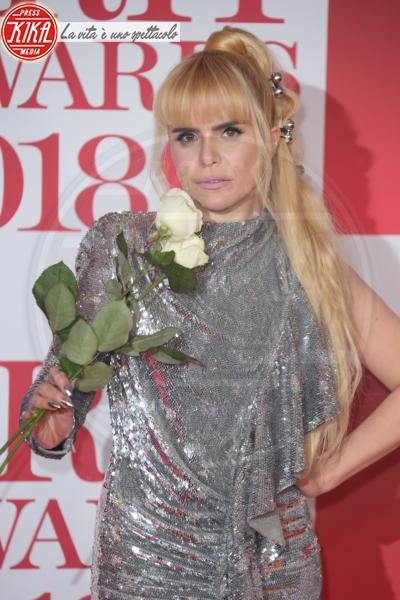 Paloma Faith - Londra - 21-02-2018 - Brits 2018: Dua Lipa e le altre, una rosa bianca per Time's Up