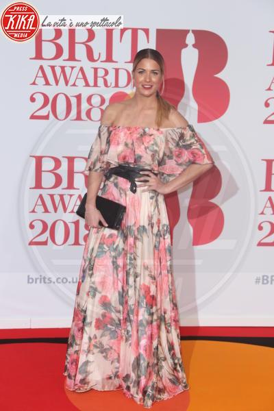 Gemma Atkinson - Londra - 21-02-2018 - Brits 2018: Dua Lipa e le altre, una rosa bianca per Time's Up