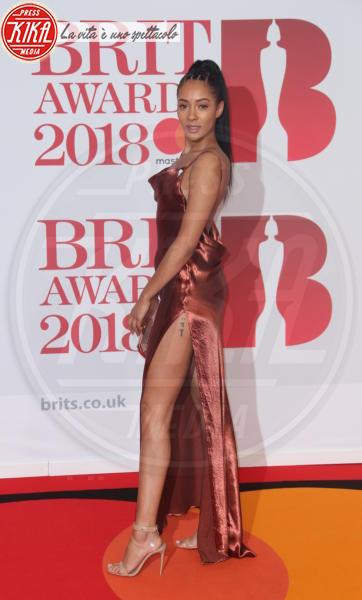 Jorja Smith - Londra - 21-02-2018 - Brits 2018: Dua Lipa e le altre, una rosa bianca per Time's Up