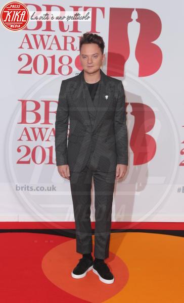 Conor Maynard - Londra - 21-02-2018 - Brits 2018: Dua Lipa e le altre, una rosa bianca per Time's Up