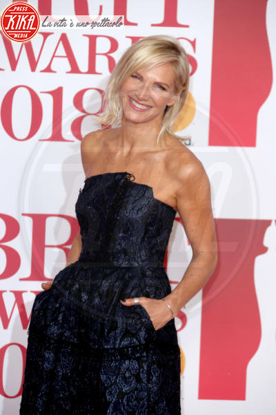 Jo Whiley - Londra - 21-02-2018 - Brits 2018: Dua Lipa e le altre, una rosa bianca per Time's Up