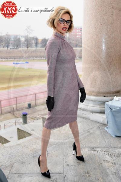 Justine Mattera - Milano - 22-02-2018 - Filippa Lagerback & Co: quante ospiti di lusso da Luisa Beccaria