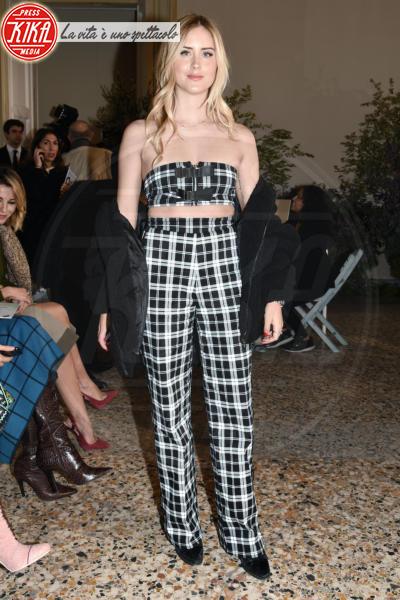 Valentina Ferragni - Milano - 22-02-2018 - Filippa Lagerback & Co: quante ospiti di lusso da Luisa Beccaria