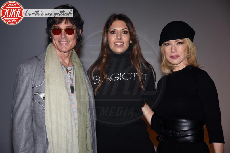 Lavinia Cigna, Ronn Moss, Nancy Brilli - Milano - 25-02-2018 - Questo parterre di Laura Biagiotti è proprio Beautiful