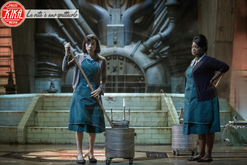 The shape Of Water, Sally Hawkins, Viola Davis - Hollywood - 05-03-2018 - Oscar 2018, a Blade Runner 2049 la Migliore fotografia