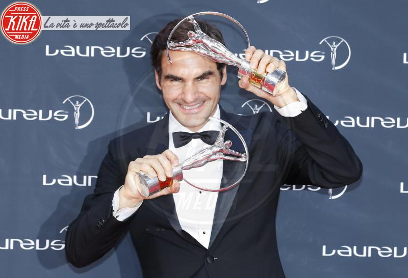 Roger Federer - Monte Carlo - 27-02-2018 - Laureus Awards 2018: brillano Francesco Totti e Ilary Blasi