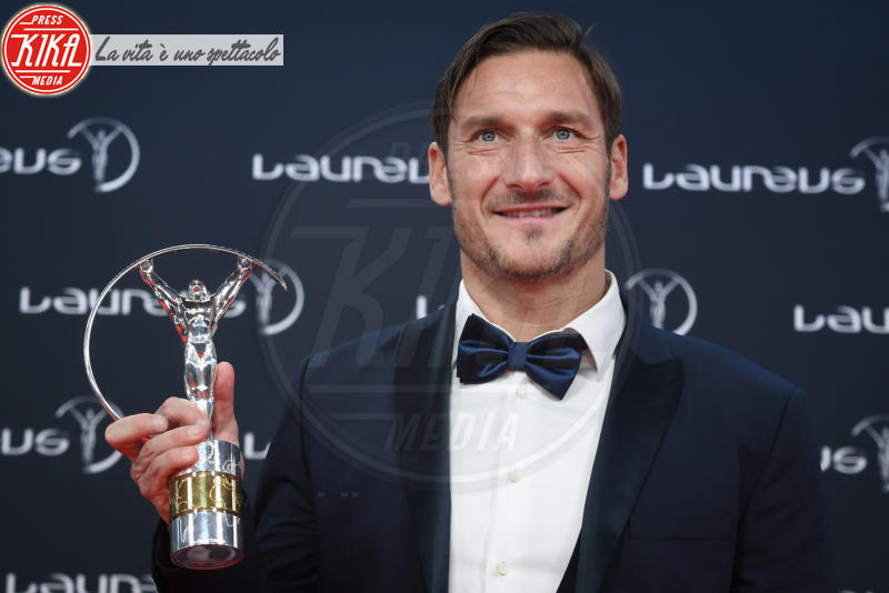 Francesco Totti - Monte Carlo - 27-02-2018 - Laureus Awards 2018: brillano Francesco Totti e Ilary Blasi