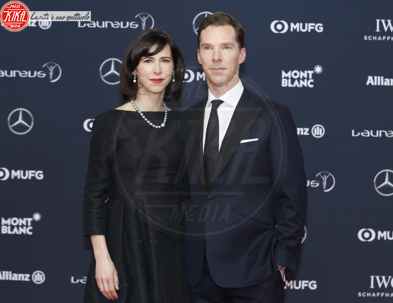 Sophie Hunter, Benedict Cumberbatch - Munich - 27-02-2018 - Laureus Awards 2018: brillano Francesco Totti e Ilary Blasi