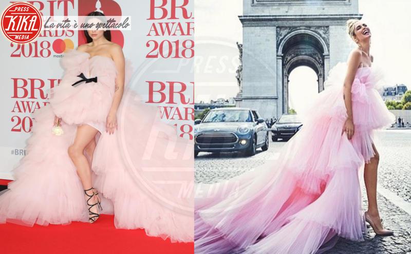 Dua Lipa, Chiara Ferragni - 28-02-2018 - Jennifer Lopez e Chiara Ferragni, chi lo indossa meglio?
