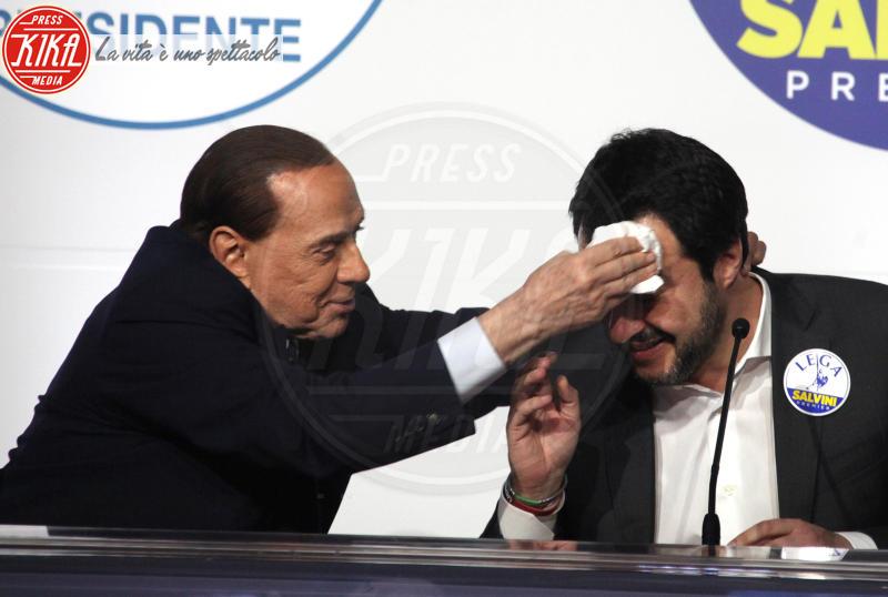 Matteo Salvini, Silvio Berlusconi - Roma - 01-03-2018 - Loro: Kasia Smutniak, così sexy non l'avete mai vista