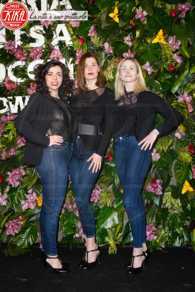 Le Ladyvette - Roma - 01-03-2018 - Parata di vip all'inaugurazione di Maria Luisa Rocchi Flowers