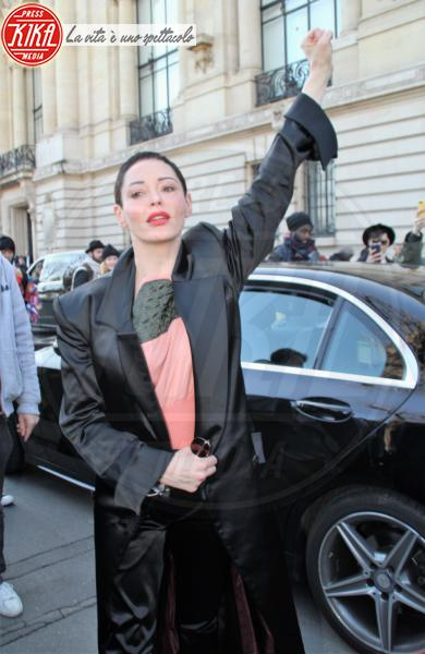 Paris Fashion Week Autumn/Winter, Rose McGowan - Parigi - 03-03-2018 - Weinstein contro Argento: