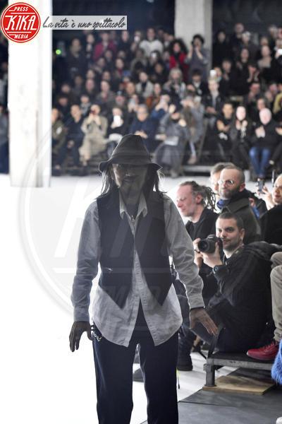 Sfilata Yohji Yamamoto, Yohji Yamamoto - Parigi - 02-03-2018 - Paris Fashion Week: la sfilata di Yohji Yamamoto