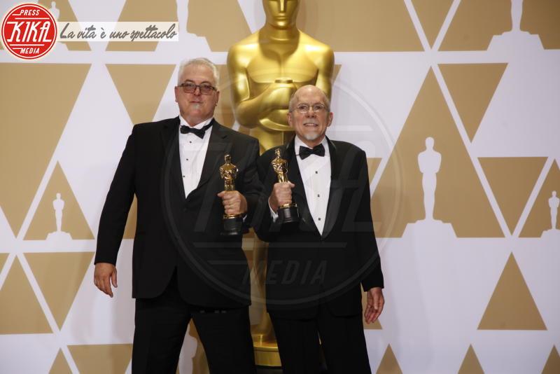 Alex Gibson, Richard King - Hollywood - 04-03-2018 - Oscar 2018, ai 90esimi Academy regna l'equilibrio