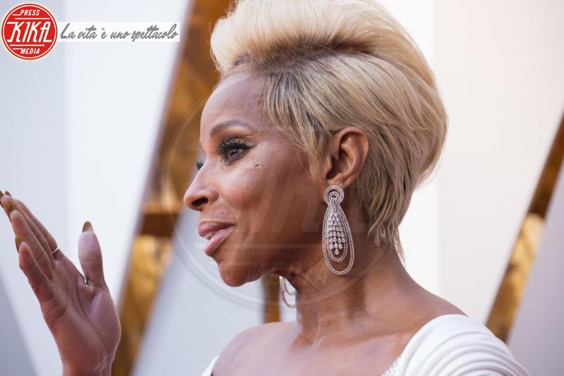 Mary J. Blige - Los Angeles - 04-03-2018 - Oscar 2018, a ogni stella il suo gioiello