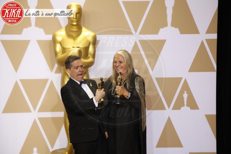 Darla K. Anderson, Lee Unkrich - Hollywood - 04-03-2018 - Oscar 2018, ai 90esimi Academy regna l'equilibrio