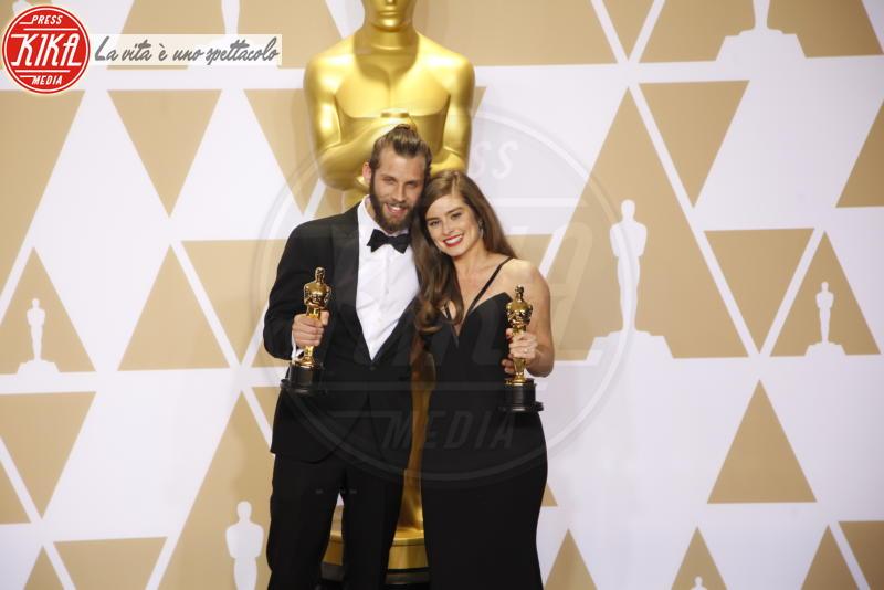 Chris Overton, Rachel Shenton - Hollywood - 04-03-2018 - Oscar 2018, ai 90esimi Academy regna l'equilibrio