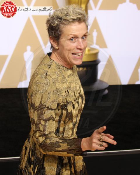 Frances Mcdormand - Los Angeles - 04-03-2018 - Oscar, rubata e ritrovata la statuetta di Frances McDormand