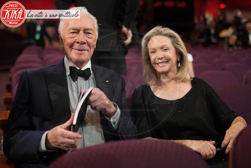 Elaine Taylor, Christopher Plummer - Los Angeles - 04-03-2018 - Oscar 2018: Frances McDormand salva una cerimonia blanda