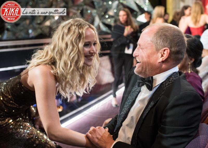 Jennifer Lawrence, Woody Harrelson - Los Angeles - 04-03-2018 - Oscar 2018: Frances McDormand salva una cerimonia blanda