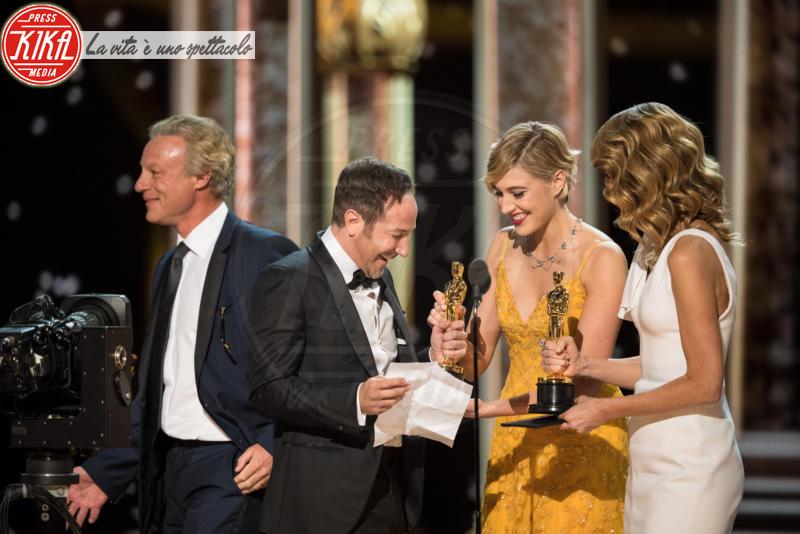 Greta Gerwig, Laura Dern - Los Angeles - 04-03-2018 - Oscar 2018: Frances McDormand salva una cerimonia blanda