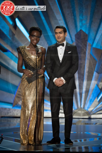 Kumail Nanjiani, Lupita Nyong'o - Los Angeles - 04-03-2018 - Oscar 2018: Frances McDormand salva una cerimonia blanda
